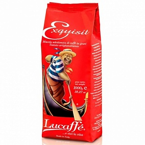 "Кофе зерно Lucaffe ""Exquisit"" 1 кг."